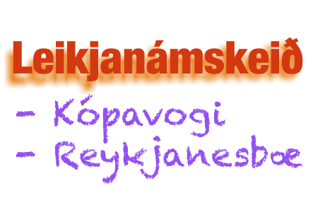 Leikjanámskeið 6-9 ára