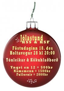 Jólastund KSS og KSF