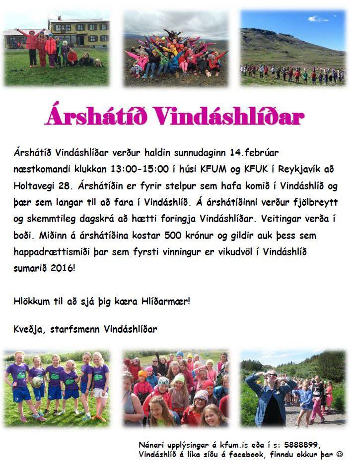 Árshátíð Vindáshlíðar