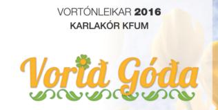 Vortónleikar Karlakórs KFUM 5. maí